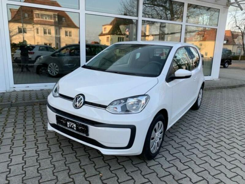 VW  up! move up! BMT/Start-Stopp 44 KW, white