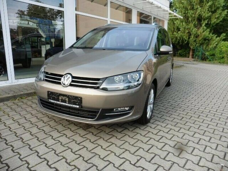 VW  Sharan Highline BMT/Start-Stopp 110 KW, Pyramid Gold Metallic