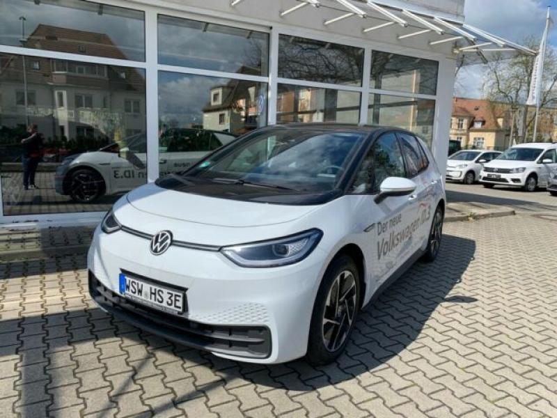 VW  ID.3 Style Pro Performance 150 KW, Gletscherweiß Metallic